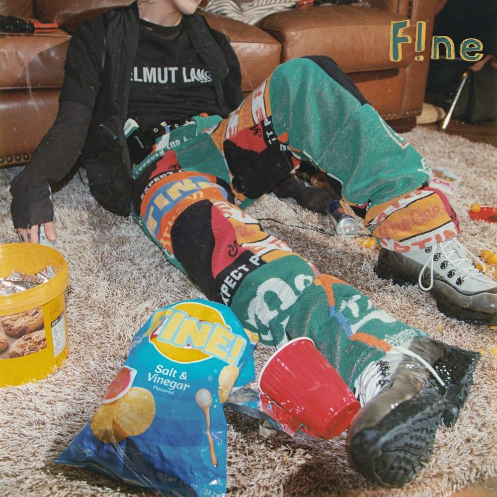 punchnello - fine! (cover art) | HiphopKR